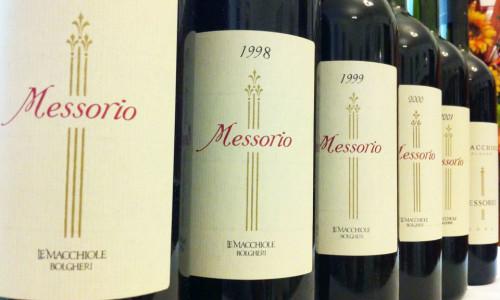 Enoteca Locanda Aurilia - Degustazione vino Messorio